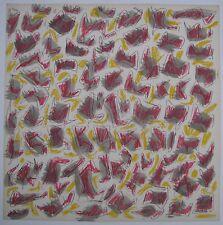 Sergio DANGELO LOTTO di UNDICI Progetti di foulards Hermès DIPINTI cm 70x70 1960