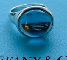 Rare Tiffany Elsa Peretti Topaz Cabochon Ring
