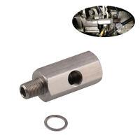 """1/8"""" BSPT Oil Pressure Sensor Tee to NPT Adapter turbo Supply Feed Line Gauge FR"""