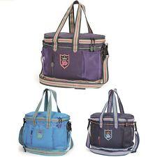 SHIRES GROOMING KIT BAG 9122 blue purple lined yard horse groom