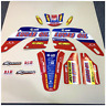 MOTOCROSS TEAM GRAPHICS HONDA 2000 - 2001 CR 125 R / 250 R GRAPHICS BIKE DECALS
