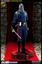 SIDESHOW GI Joe COBRA COMMANDER EXCLUSIVE PREMIUM FORMAT/STATUE MIB! MOVIE Bust