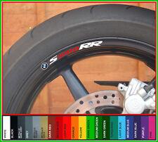 BMW S1000RR Wheel Rim Decals Stickers - s1000 rr s 1000rr s 1000 rr