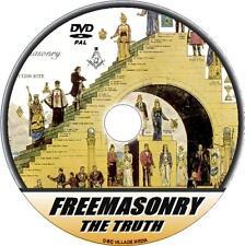 FREEMASONRY DVD WATCH + LEARN THE TRUTH OF THIS SECRETIVE MASONIC ORDER  NEW