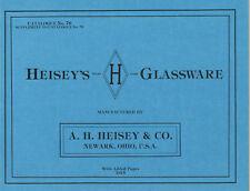 Heisey's Glassware Catalogue No. 76
