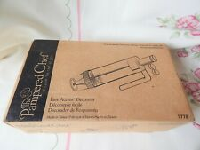 Pampered Chef Easy Accent Decorator - New In Box #1778 - Cake Decorating