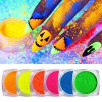 BORN PRETTY 2g Fluoreszenz Nagel Pulver Nail Powder Fluorescence Nail Art Dust