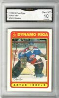 1990-91 O-Pee-Chee #501 Arturs Irbe UER RC   Graded GEM MINT 10    Only RC
