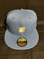 New Era Undefeated 59fifty Hat Cap Blue 7 3/8