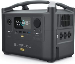 🔋⚡EF ECOFLOW RIVER Pro Portable Power Station 720Wh, Power Multiple Devices