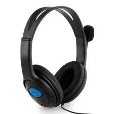 Auriculares PS4 Cascos Gaming - Negro