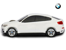 BMW X6 50i Sport Car Shape Wireless Mouse Gift Officially Licensed - White