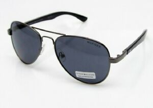 New TOMMY HILFIGER Mens Sunglasses Benjamin MMOM186 Gunmetal/Gray $60