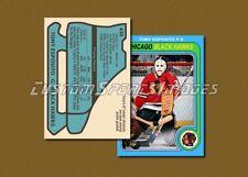 Tony Esposito - Chicago Black Hawks - Custom Hockey Card  - 1978-79