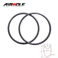 700C 38mm height 25mm width disc carbon road bike rims carbon road bicycle rims