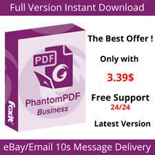 Foxit PhantomPDF Business 10🌠Editor🌠Full Version 2020🌠Lifetime Activation🌠