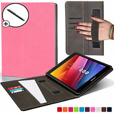 Forefront Cases® Leather Pink Strap Smart Case Cover for ASUS Zenpad Z8 Stylus