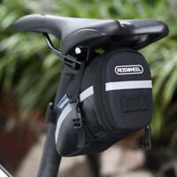 Waterproof Cycling Seat Pouch Bicycle Tail Rear Storage Bike Saddle Tube Bag BT