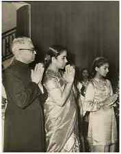 L'homme politique indien V. O. Chidambaram Pillai Vintage print, Photo de P