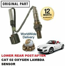 FOR MAZDA MX5 1.8 2.0 2005--> LOWER REAR POST CAT DIRECT FIT 02 LAMBDA SENSOR