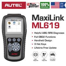 Autel ML619 Car Check Engine ABS SRS Airbag Diagnostic Scanner OBD2 Code Reader