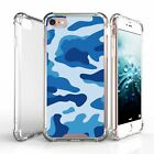 """For Apple iPhone 8 Plus (5.5"""") Durable Fitted Clear TPU Case - Unique Designs"""