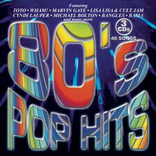 Various Artists : 3 Pak: 80's Pop Hits Rock 3 Discs Cd