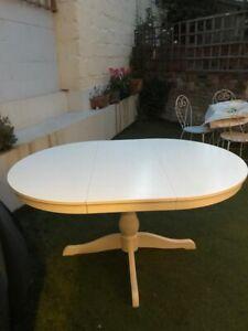 Ingatorp White Extendable Ikea Table