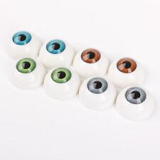 8PCS 26mm Half Round Acrylic Doll Bear Craft Plastic Eyes Eyeball DIY NEW