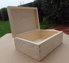 Plain Legno-Souvenir in legno box/ARTE Craft/DECOUPAGE 23 CM x 16.5 CM x 9 cm