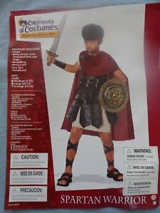 Spartan Warrior Roman Gladiator Child Costume