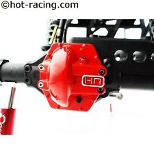 Hot Racing Metal Low Profile AR60 Diff Cover (Red) Yeti, Wraith, AX10 WRA12CA02