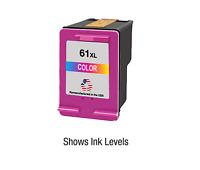 Color 61XL for HP Ink Cartridge for Deskjet 3512 ENVY 4500 5534 Officejet 4634