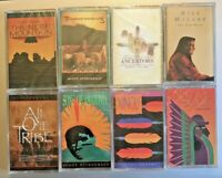 Fitzgerald THUNDERDRUMS NEW cassette tapes Lot of 8 Native American Soul Arizona