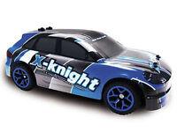 RC Rally Car PR-5 1:18 4WD proportionales Gas inkl Akku und Ladegerät blau