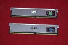 Desktop Memory GEIL 1GB (2X512MB) PC2-6400, 5-15-5-5 RAM (GX21GB6400DCK)