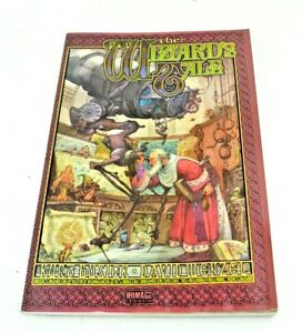 Wizard's Tale Homage Comics Fantasy Graphic Novel Kurt Busiek David Wenzel