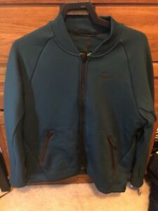 NEW NIKE THERMA-SPHERE MAX MEN`S SZ L TRAINING JACKET  800229 346 Forest Green