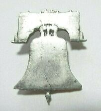 Collectible Hand Carved Liberty Bell Tie Tack