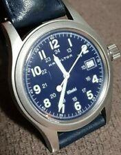 orologio Hamilton khaki quartz 6361 funzionante uomo buono stato dial blu
