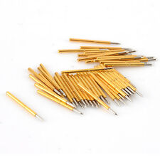 50pcs P75-B1 Dia 1.02mm 100g Cusp Spear Spring Loaded Test Probes Pogo Pin