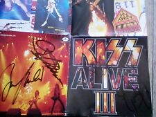 kiss signed cd, alive III Japan