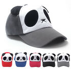 Fashion Unisex Cotton Cute Panda Style Baseball Cap Hip-pop Hat Casual Flat Hats
