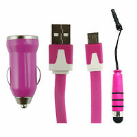 Universal Trio Pack Micro USB,Cargador De Coche,Mini Puntero para