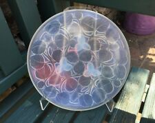 Arrers Opalescent Glass Leaf Dish Made In France Art Deco Lalique Style