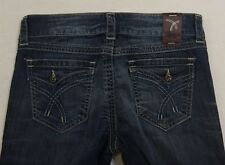 """TAG + Women's Jeans Button Pockets Dark wash Size 27 x 35"""" Long"""