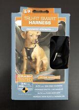 Kurgo Tru-Fit Smart Harness Dogs Seatbelt Auto Walking Small (S/P) New