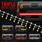 6 Modes 432LED Truck Strip Tailgate Light Bar 3Row Reverse Brake Signal Tail 60""