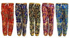 Ali Baba Harem Trousers Pants Leggings Ladies Baggy Aladdin Boho Hippy Womens