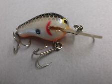 Older Brass Bagley Deep Diving Kill'r B,#DKB1,#04,Black on White